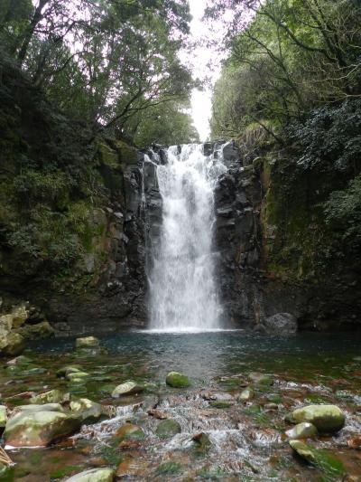 島原半島南部にかかる二つの滝『鮎帰りの滝』&『戸の隅の滝』◆2012早春の長崎県旅行≪その18≫