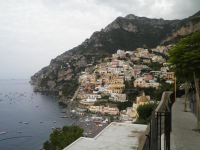 南イタリア2010旅行記 【28】アマルフィ海岸7(ポジターノ4)