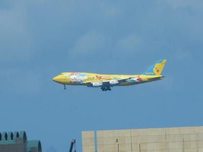 07.(結果的に)西日本のニューハーフショーパブを巡る旅 西鉄リゾートイン那覇のお部屋から着陸機などを撮影