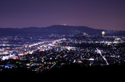 【奈良県(奈良)】ロマンチックなパノラマ夜景! 新日本三大夜景「若草山」