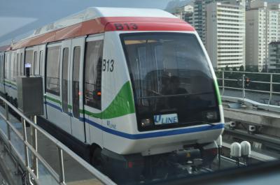 2012年7月Peachで行く韓国鉄道旅行4(議政府軽電鉄線)