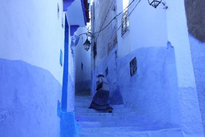 モロッコ再訪!サハラ砂漠の夕日、シャウエンブルーを堪能!