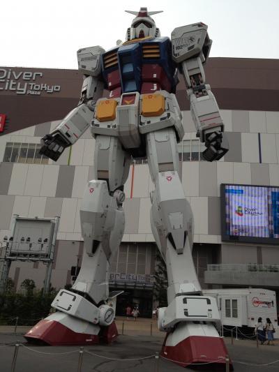 ダイバーシティ東京プラザで実物大ガンダム見てきました。その1