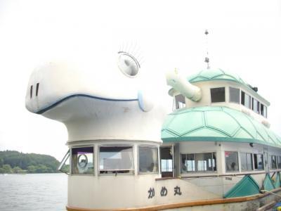 夏の福島旅は遊覧船に乗って偉人を勉強する@猪苗代~野口英世記念館@