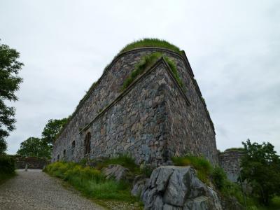 3週間北欧周遊一人旅2日目①・スオメリンナの要塞群