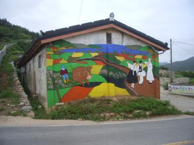 韓国・青山島(チュンサンドー)でホームステイ