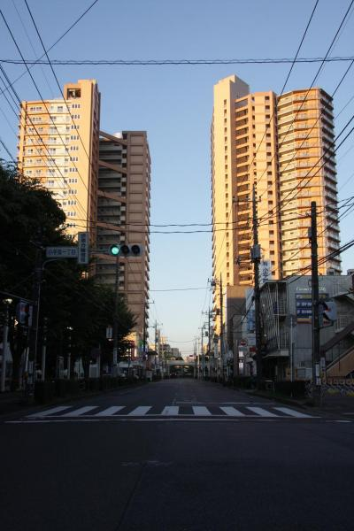 小さな旅 夜明けのわが街 小手指 2012 Daybreak of my town Kotesashi