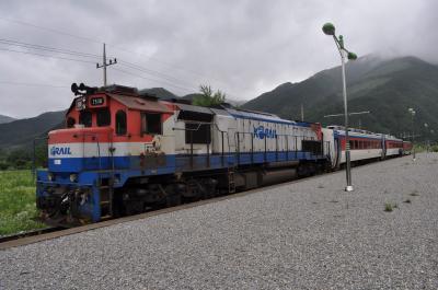 2012年7月Peachで行く韓国鉄道旅行6(旌善線)