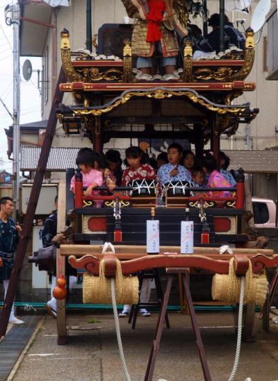 日本の祭 2012 村上大祭 宵まつり 小国町 おしゃぎり編ー1