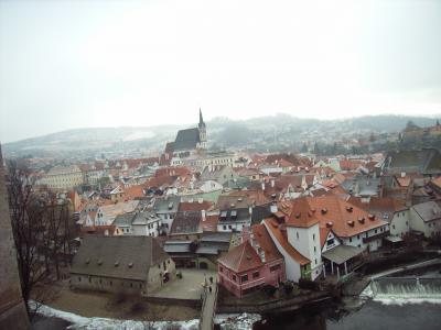 2008-2009:冬たび・3 中欧3都めぐり チェコ・チェスキークルムロフ オーストリア、で年越し!