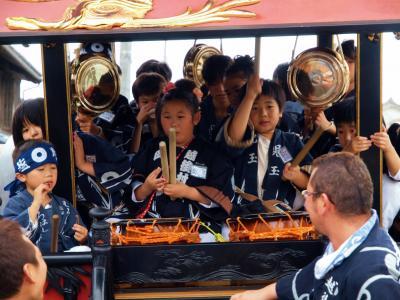 日本の祭 2012 村上大祭 宵まつり 塩町 おしゃぎり編ー1