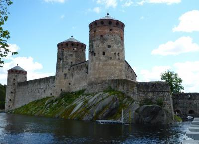 3週間北欧周遊一人旅5日目①・サヴォンリンナのオラヴィ城にて