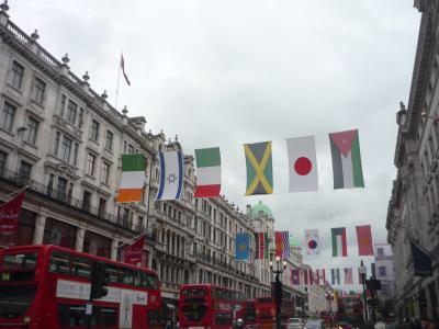 英国への旅2012①★前泊~成田出発~London到着★