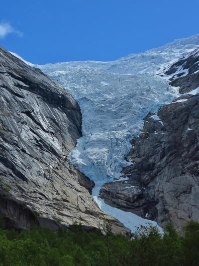 北欧GR38 NOR16 ブリクスダール氷河に向けて ☆専用車とハイキング