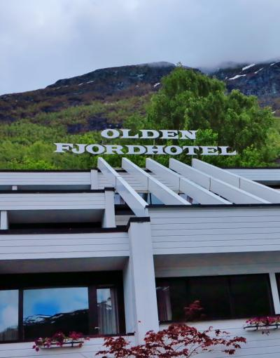 北欧GR41 NOR19 オルデフィヨルドホテルでランチ ☆湖畔の情景のなか