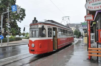 2011年オーストリア旅行記 その21 古いトラムでグムンデン市街へ