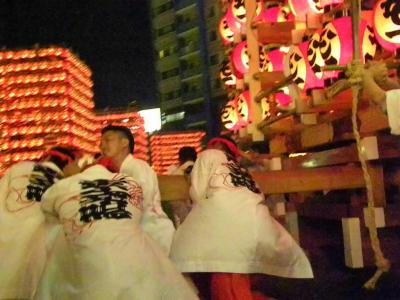 日本の祭 2012 久喜市 天王様 (ちょうちん祭)−3 西口駅前広場 最終編