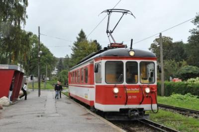 2011年オーストリア旅行記 その22 グムンデンからローカル線に乗る