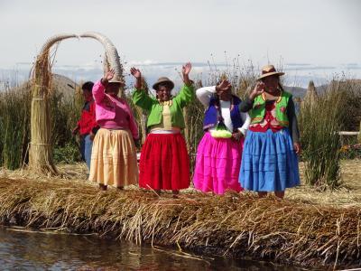 ペルー個人旅行2 チチカカ湖で高山病!!プーノからクスコへバス移動