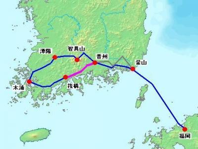 2012年 韓国南部周遊 自転車旅行 【3日目 晋州~筏橋】