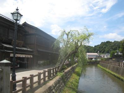 小江戸佐原の夏祭りと成田山参拝
