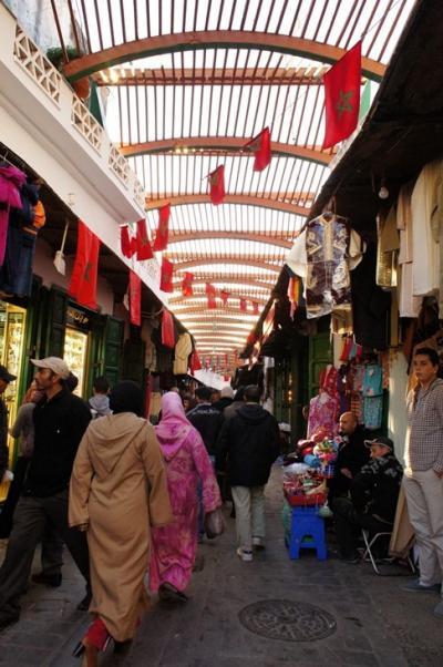 モロッコの世界遺産 テトゥアンの白いメディナ