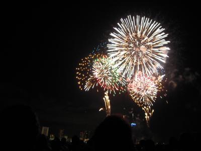2012年 淀川花火大会 ~有料席での観覧は最高♪~