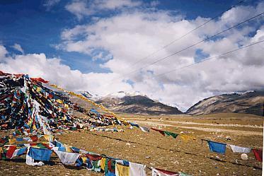 秘境なのかな?チベット