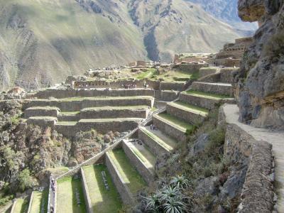 2012 GW ペルー旅行10:インカの聖なる谷巡り2 オリャンタイタンボ遺跡