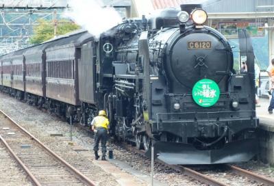SL列車に乗る(横川→高崎)
