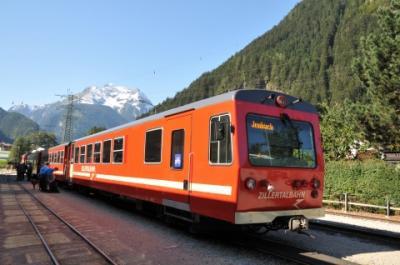 2011年オーストリア旅行記 その41 ツィラータール鉄道でマイヤーホーフェンへ