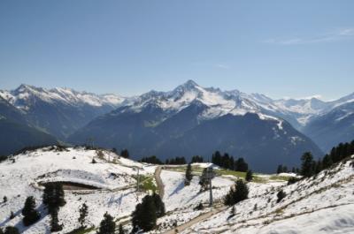2011年オーストリア旅行記 その42 マイヤーホーフェン散策前編 ペンケンバーンで山頂へ