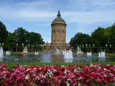 2012年ドイツの旅【5】選帝侯が造った街「マンハイム」