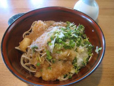 手打蕎麦 椋庵☆夏はきりりとおろし蕎麦☆2012/08/16