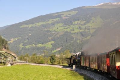 2011年オーストリア旅行記 その44 ツィラータール鉄道のSLに乗る