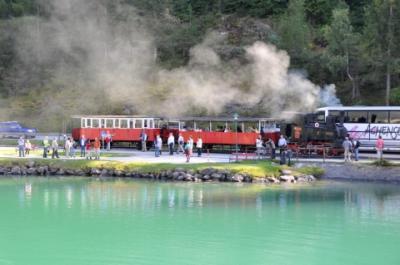 2011年オーストリア旅行記 その45 アッヘンゼー鉄道のSLで湖へ