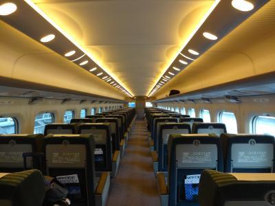 日帰り大阪旅行ー① 東海道新幹線と北米アセラ( ボストン~NY鉄道)と比較してみました。  8月  2012年