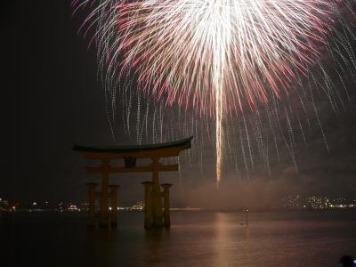 安芸の宮島 水中花火大会 2012