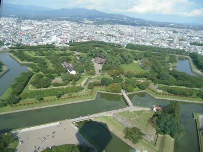 北海道一周ドライブ旅2011(14)はこだて二日目