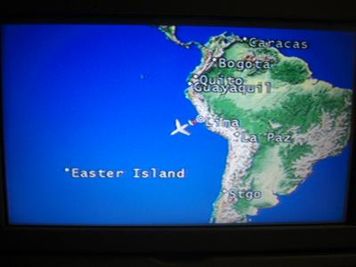 2. イースター島とペルー■3日目1 イースター島上陸 空港トイレのドアに鍵なく半開きで排便
