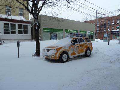 大雪のNew York