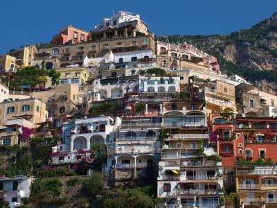 南イタリアへの旅(ポジターノ)