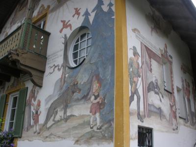 ドイツアルプスからチロル、ドロミテ、ザルツカンマーグートへ 【6】オーバーアマガウ