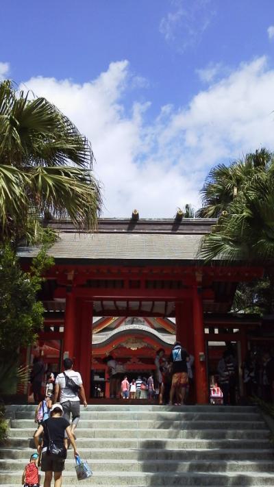 2012年夏・西日本横断列車の旅(3)太陽と神話の国・宮崎へ~宮崎・青島編