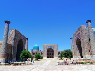 2012_ウズベキスタン旅行記3_サマルカンド編