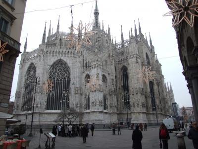 北イタリア2008 フィレンツェ・ミラノ・ベネチア・ヴェローナ 正月家族旅行