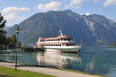 2011年オーストリア旅行記 その46 遊覧船でアーヘン湖を一周