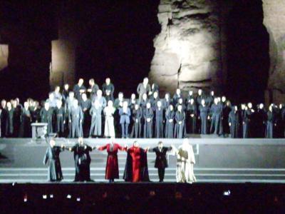 猛暑のイタリア旅行 ローマ~フィレンツェ~ヴェネチア ローマ編④カラカラ浴場オペラ