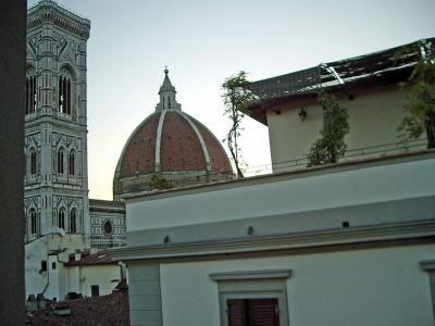 猛暑のイタリア旅行 ローマ~フィレンツェ~ヴェネチア フィレンツェ編①