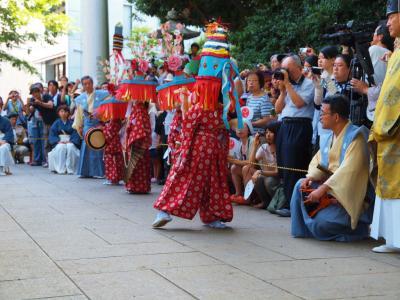 日本の伝統民俗芸能 2012 王子田楽−2